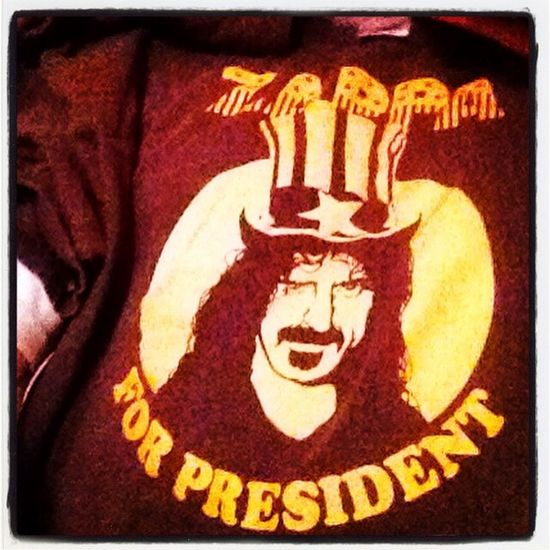 Musiclover Zappa Zappa For President Real Music
