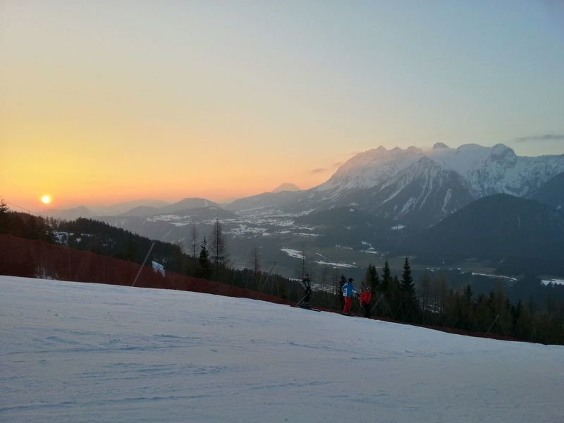 Mountain View Sundown Late Skiing In Austria 👌 A Perfect Day My Country In A Photo HDR I Love My HDR Mountains Sundown