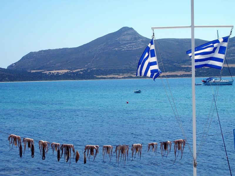 Cyclades Cyclades Islands Greek Islands Greek Summer Idyllic Mézes Octopus Ouzo Ouzo Time Color Palette