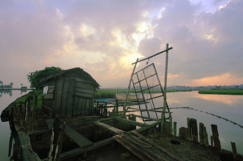 Good morning Kerala. A view from kadamakkudi. Kadamakkudi Kerala Sunrise Travel