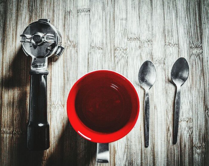 Taking Photos Anyone For Cappuccino  Enjoying Life Nikon D3300 Experimental Edit Taking Photos Shadows Portafilter Coffee Cup Spoon Time!  For The Love Of Coffee