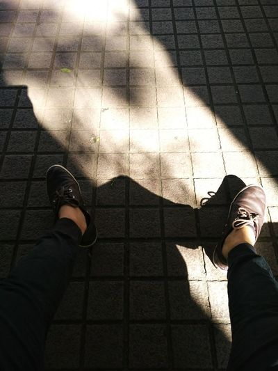 selfeet, inside a university. waiting.. One Person Low Section Shoe High Angle View Standing Adults Only Human Leg