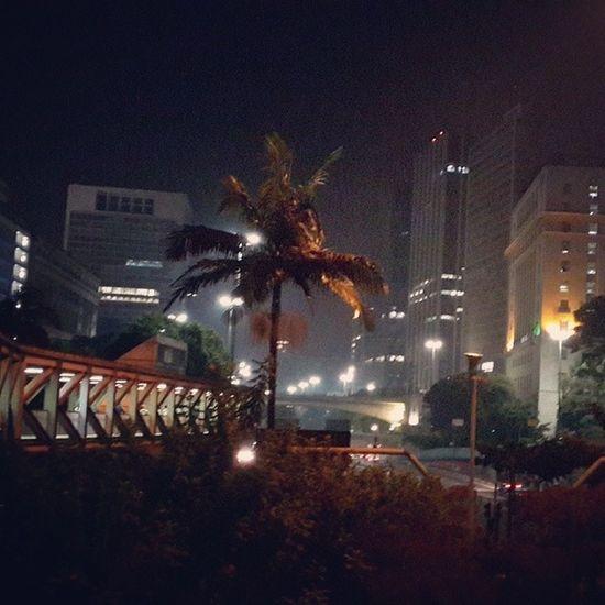 Vale do Anhangabau Sao Paulo - Brazil City Lights City At Night