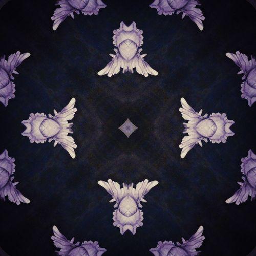 Digital composite image of roses