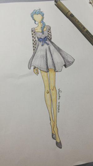 Croqui Fashion Croqui Ilustration