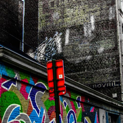 #freestyle #brussel Multi Colored City Street Art Graffiti Architecture Building Exterior Built Structure Close-up