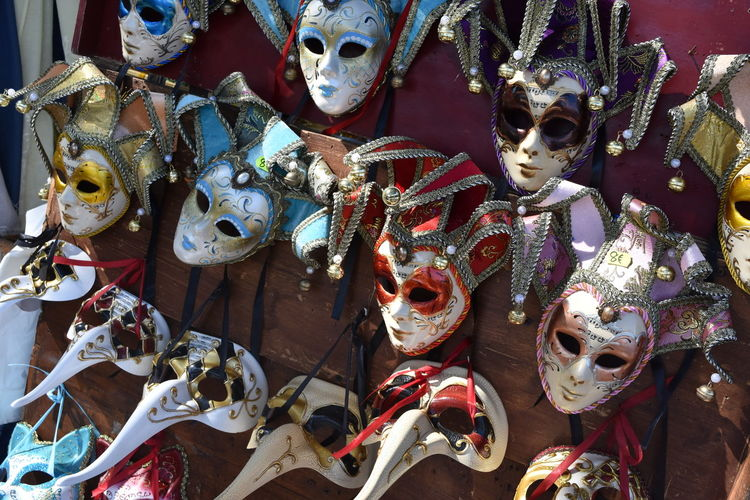 HandPainted Masks Venice Mask Venice, Italy Decorative Art Decorative Mask Mask Venice Venice Carnival Venice Masks