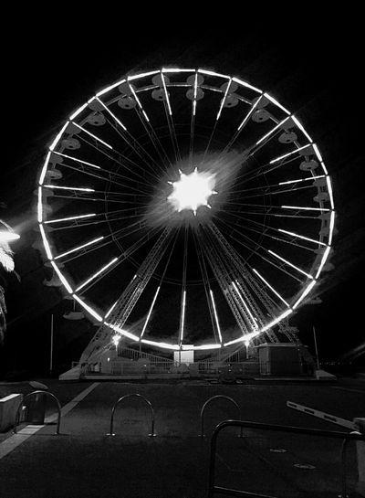 Wheel Blackandwhite Côte D'Azur Saint Raphael