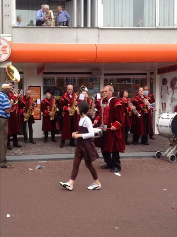 Throwback Eindhoven May 2012 Abundance Arrangement Brass Band Business City Life Close Up Cultures Focus On Foreground Full Length Large Group Of Objects Lifestyles Looking Men Occupation Real People Selfie Showcase: February Side By Side Side View Standing Street Performance Streetphotography The Tourist Tradition Working