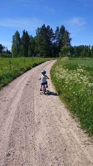 Bycycle Children On Bicycle Kid On A Bike Kid On Bike Kid Playing Nature One Person Outdoors People