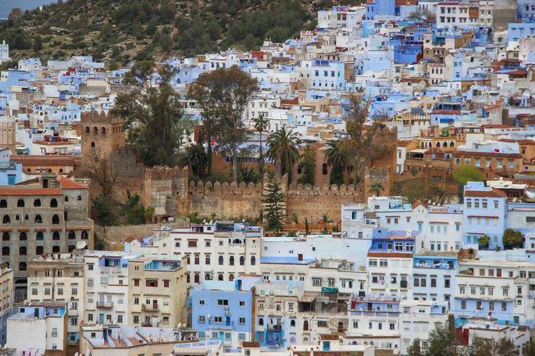 Castle City Life City Street Cityscape Travel Traveling View Wall Architecture Blue Building Exterior Built Structure City City View  Community Day Fortress House No People Oriental Outdoors Park Residential Building Tree View From Above