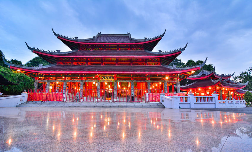 Cultures History No People Outdoors Travel Destinations Arts Culture And Entertainment Long Exposure INDONESIA Semarang Holyday