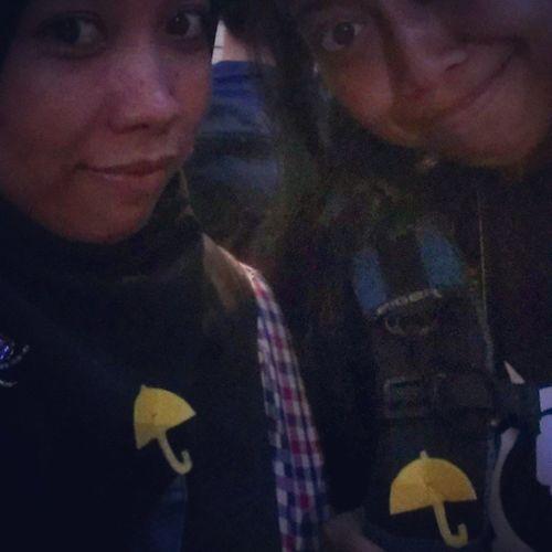 With umbrella revolution Hkigers Yellow_ribbon HongKongers Umbrellarevolution