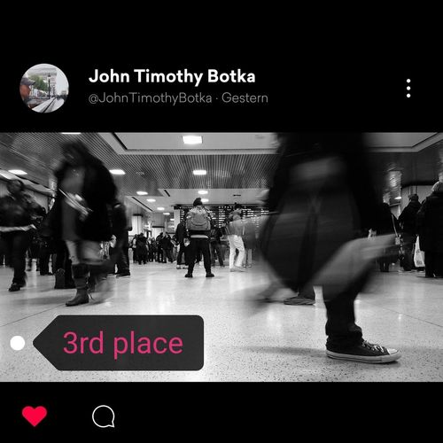 3RD PLACE... I love the perspective and the vanishing point in these shot. Great shot @JohnTimothyBotka. Thank you so much and congrats. Bnw_friday_eyeemchallenge Bnw_longexposure