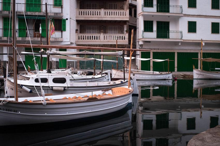 Nautical Vessel Travel Destinations Water Transportation Moored No People Outdoors Gondola - Traditional Boat Day Mallorcaisland Manuelkiese Mallorcaphotographer Mallorca (Spain) Cala Figuera