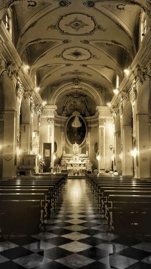 Architecture Indoors  No People Arch Church Note3 Pray Chees Scacchiera Navata BaroccoSiciliano Barocco Architecture