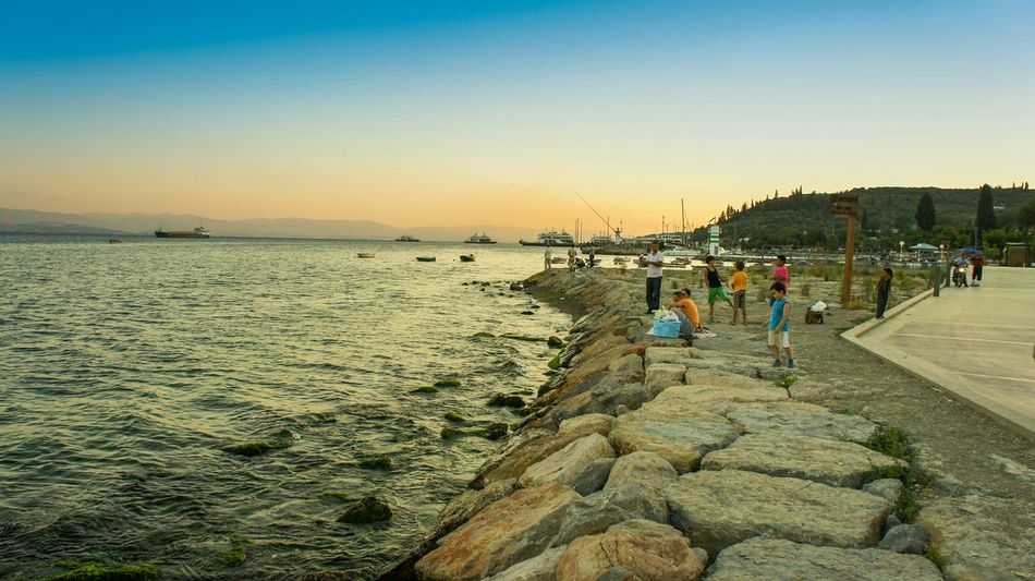 Sunset-ters Photography Photooftheday Picoftheday Travel Photography Holiday History Summer Travel People Sunlight Sunset Sunsetters Fishing Blue Sky Istanbul Turkey