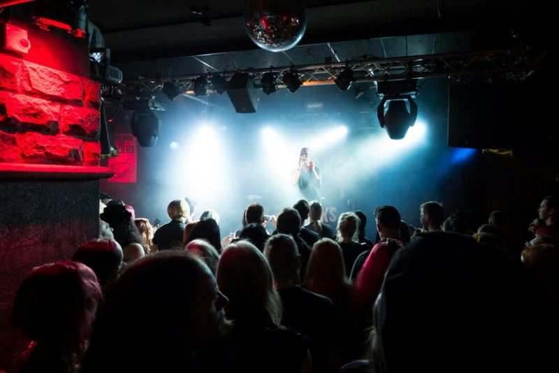 Concert Concert Photography Electropop Night Night Club Clubbing Audience Youth Culture Subculture Alternative Music Music Nightlife Helsinki Finland Crowd Illuminated