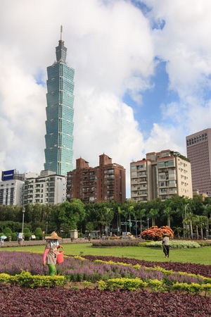 Garden In The City Republic Of China Taipei Taipei 101 Taipei City Taipei Garden Taipei Gardener Taipei Landmark Taipei Life Taipei101 Taiwan Taiwan Taipei