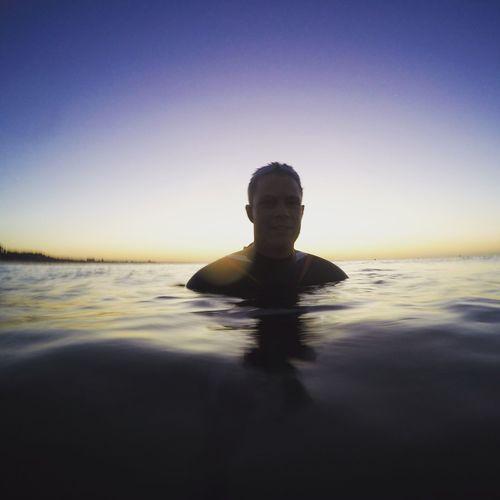 Sunrise_sunsets_aroundworld Swimming Poole, Dorset Poole Harbour Sandbanks Beach Sunrise Colorful First Eyeem Photo