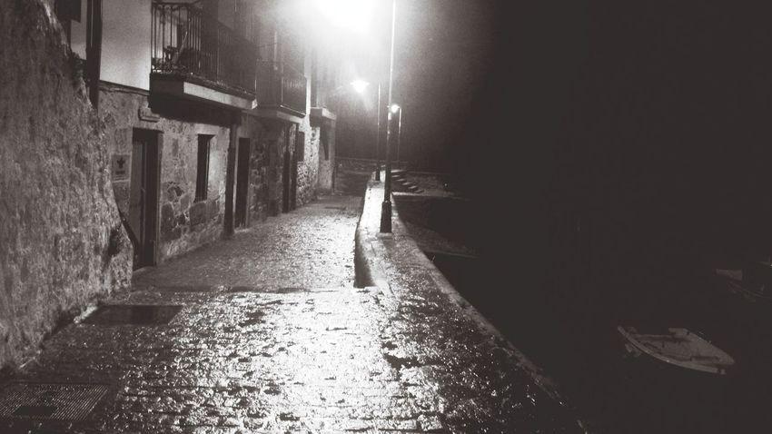 Trasnochadores Calles Vacias Noche Solitario Paisajes Nocturnos