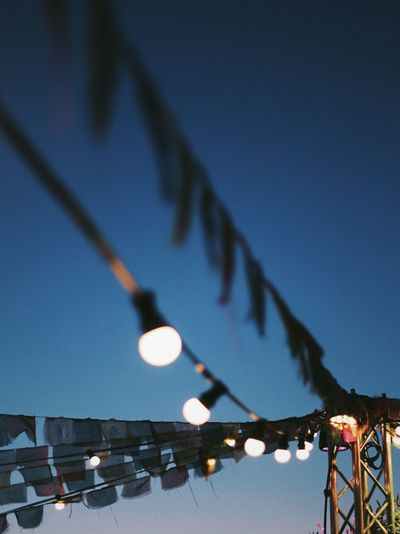 Festival Season Music Calm Drink Sunset Goodvibes Glow Light Adventure Berlin Lollapalooza Party Festival Lighting Equipment Illuminated No People Sky Architecture Nature Decoration Hanging Dusk Blue Clear Sky Night Outdoors