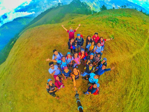 When you travel you gain friends... Travelph Philippines Mt.Ulap Philippinemountains Mountainprovince