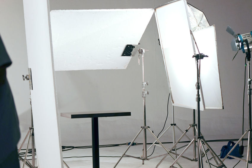 Studio lighting equipment Advertising Studio Studio Lighting Equipment Art Behind The Scenes Broadcasting Day Equipment Film Industry Indoors  No People Photography Photography Themes Studio Photography Studio Shot Technology White Color