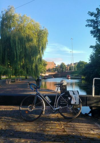Bicycle Bikesaroundtheworld Bike Life Bikeporn Bici Canal Black Country Bicicleta Bike Outdoors Nature Water Summer