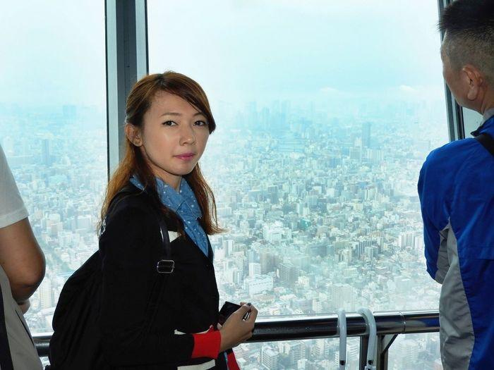 TOKYO SKYTREE TEMBO DECK (June 2015) 350 meters above the ground.. 😱 Tokyo Japan Tokyoskytree