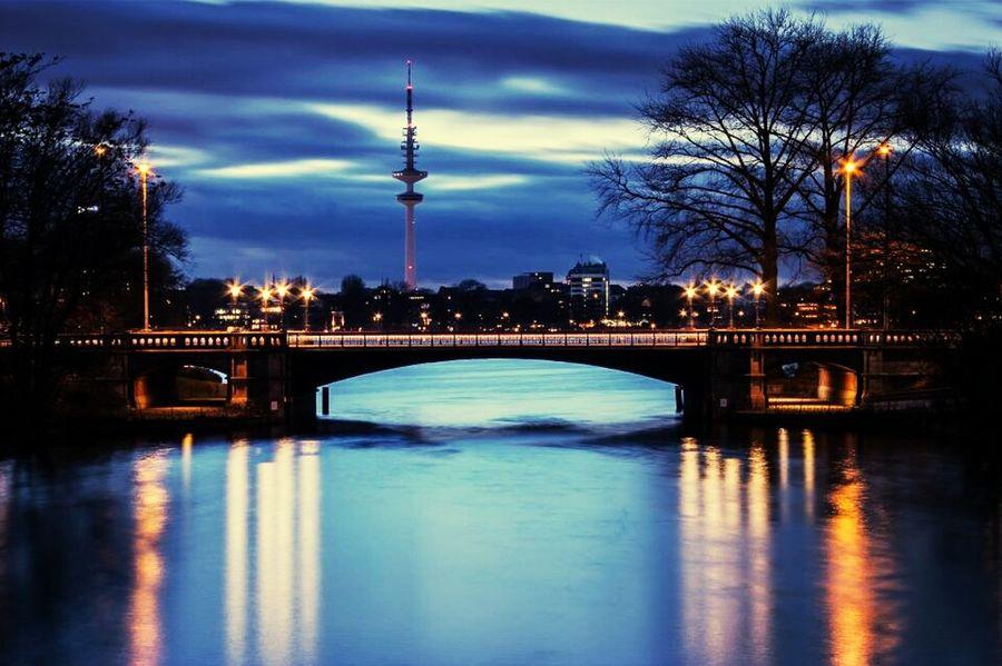 Hamburg Ein Blick Uber Die Aussenalster
