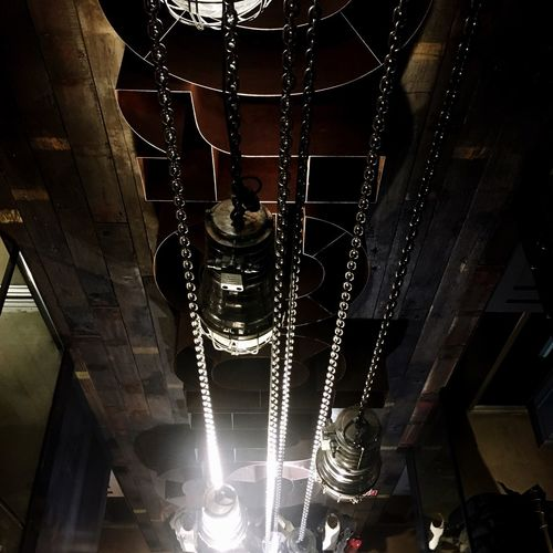exploring my city Hanging Low Angle View Illuminated Indoors  Chain Lamps Superdry Indoorarchitacture Design