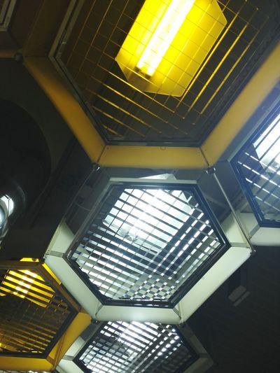 Architecture Modern Interior Architectural Design Geometric Shape Electric Light No People Light Lamp Design Decoration Exterior Decor Art Metro