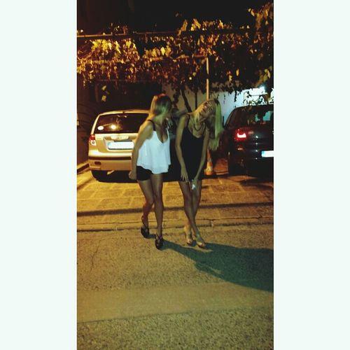 People Blackandwhite Girl Nightout