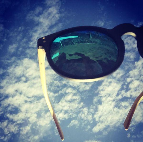 Sun Beach Couds Sky Blue Sky Hello World