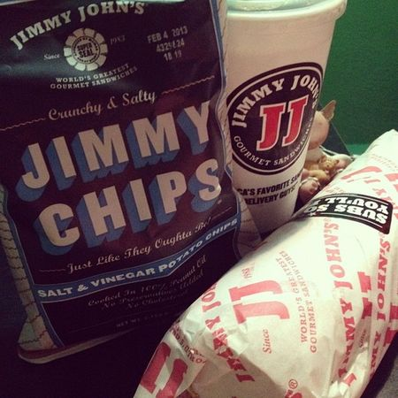 Uhm. Get in my mouth. Jimmyjohns Subs Thebest 16 yum!