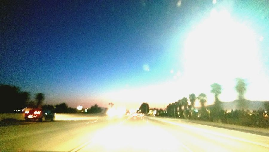 Twilight Sky I-10 Westbound Ontheroad