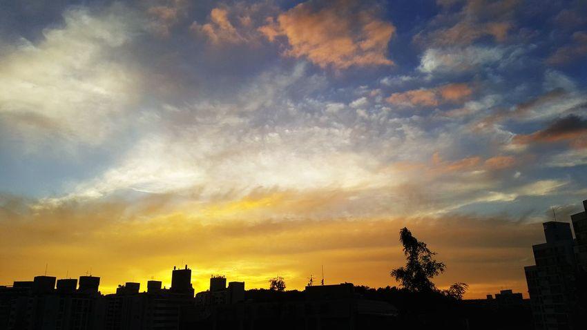 See ya #180707 Sunset Cityscape Dramatic Sky Sky