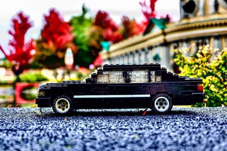 Car Car Made Of Lego Close-up Day Land Vehicle LEGO Lego Minifigures Legoland Legophotography Mode Of Transport No People Outdoors Sports Track Transportation