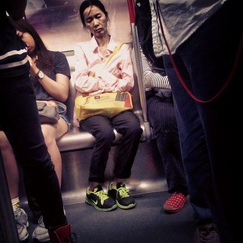 Passenger Unhappy Ontheway Sleepingonthetrain #
