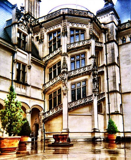 Architecture Biltmore Estate Biltmore House Building Exterior Built Structure City Day No People Outdoors Tree Water
