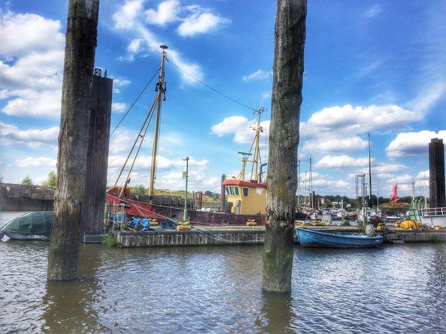 Taking Photos Ship Relaxing Harbour