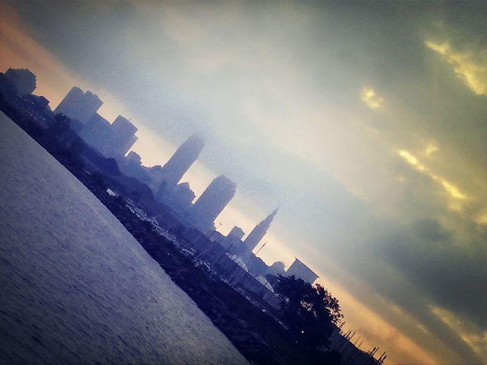 Hello World Enjoying Life Taking Photos Cleveland Skyline