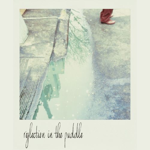 reflections in puddle at union square NEM Submissions Unionsquare Polamatic EyeEmBestPics