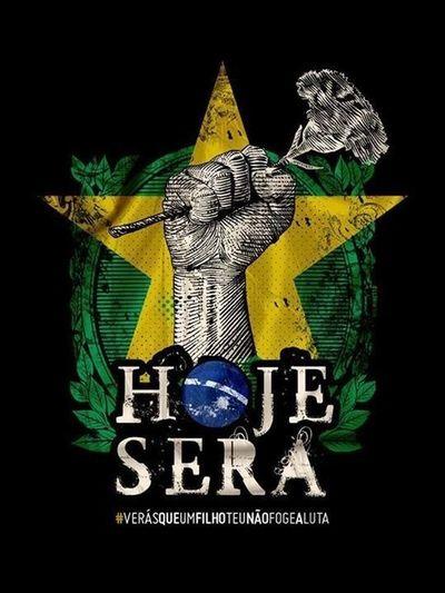 #Manifesto #Brasil #VamosaLuta #VemPraRua #Guarujá #WorldChange