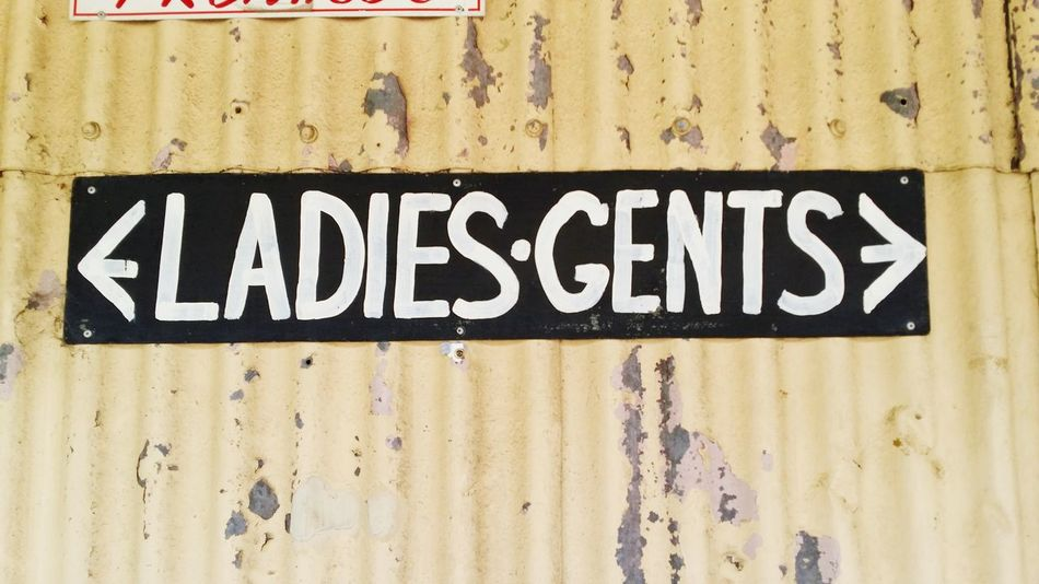 Melbourne Rocks Photography Ladies And Gents Ladies Gents Pub Sign Signage QLD