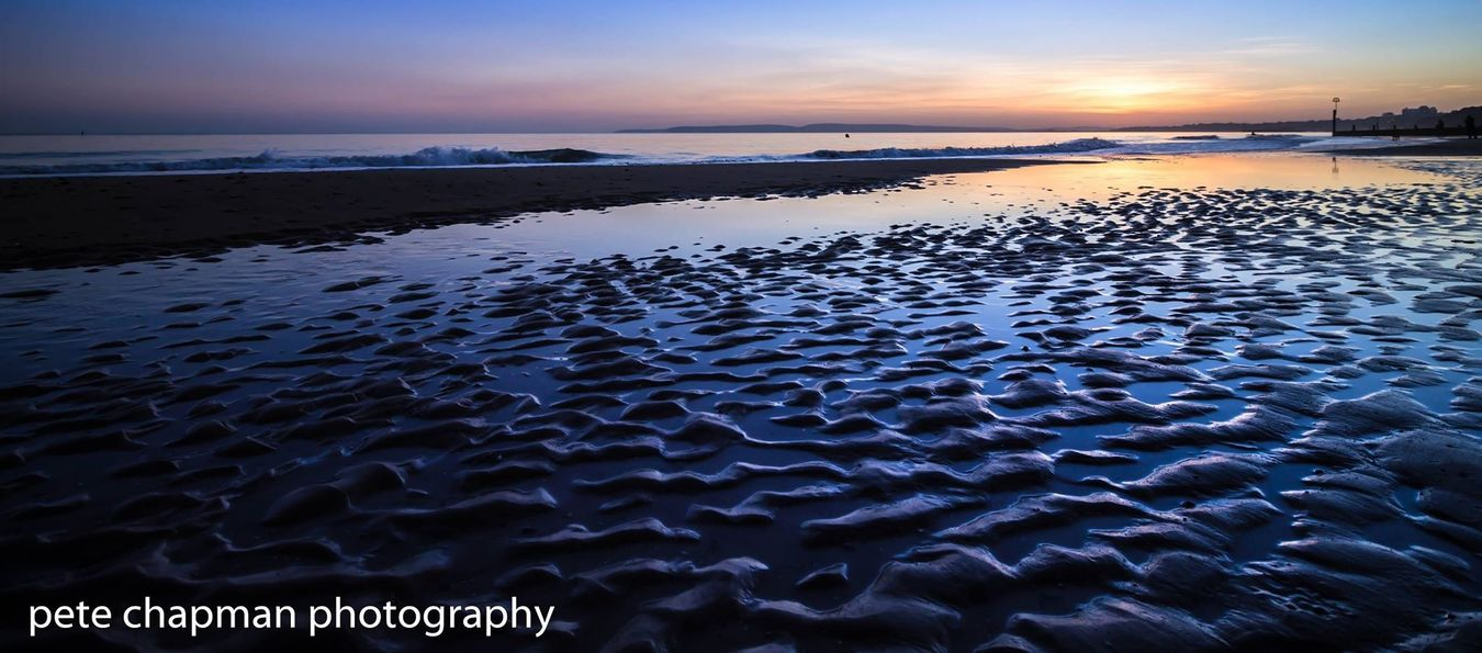 Boscombe Pier  Sunset