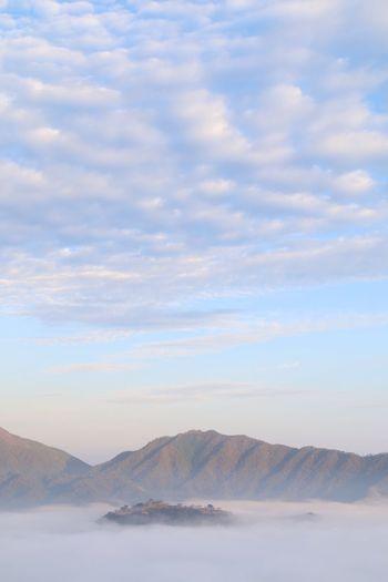 竹田城の雲海 Sky Cloud Sea (雲海)