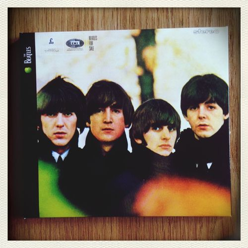 With thanks to a certain music geek (im sure he will admit to that), im happy listening to the first album i ever owned - came with a record player i was given as a child Beatlesforsale