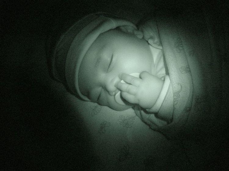 Baby Focus Beautiful Sleeping Night